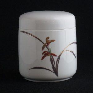 香蘭社 白磁蘭