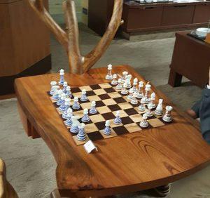 有田焼磁器製チェス